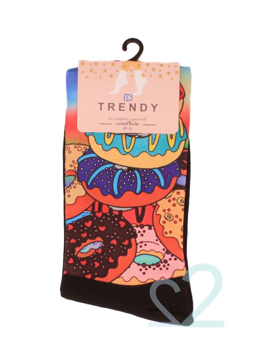 Κάλτσες γυναικείες Printed Fancy Donuts