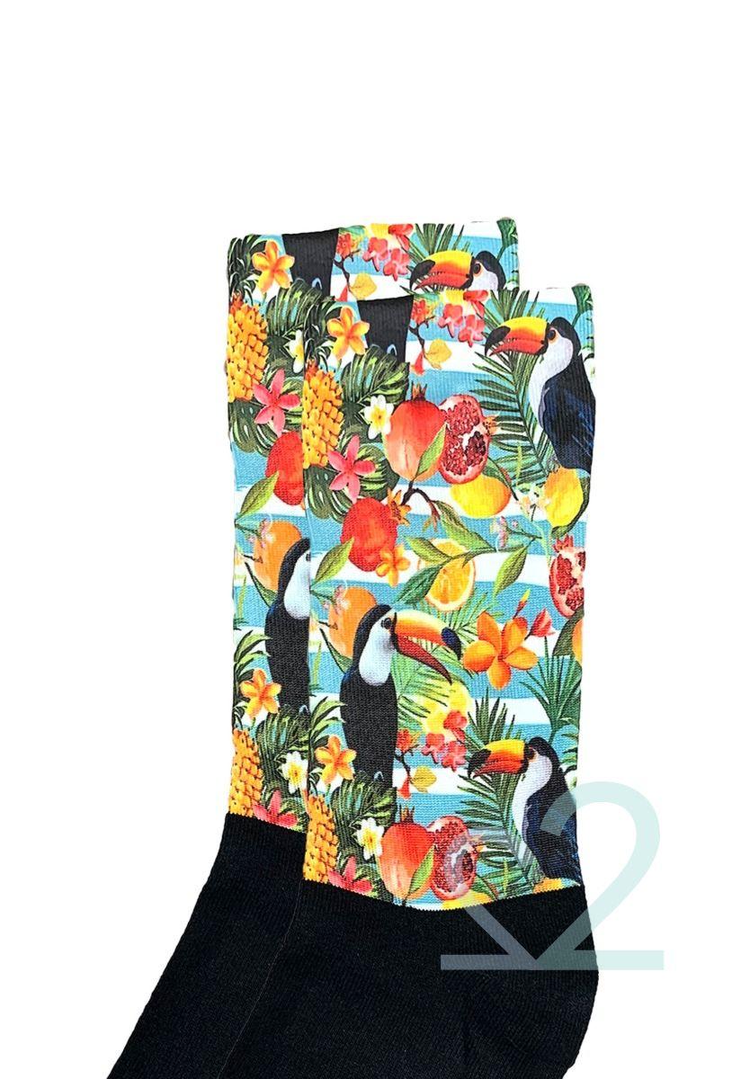 Κάλτσες γυναικείες Printed Tropical Vibes