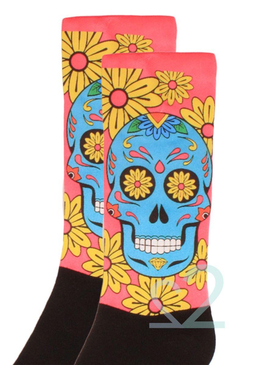 Κάλτσες γυναικείες Printed Los Muertos