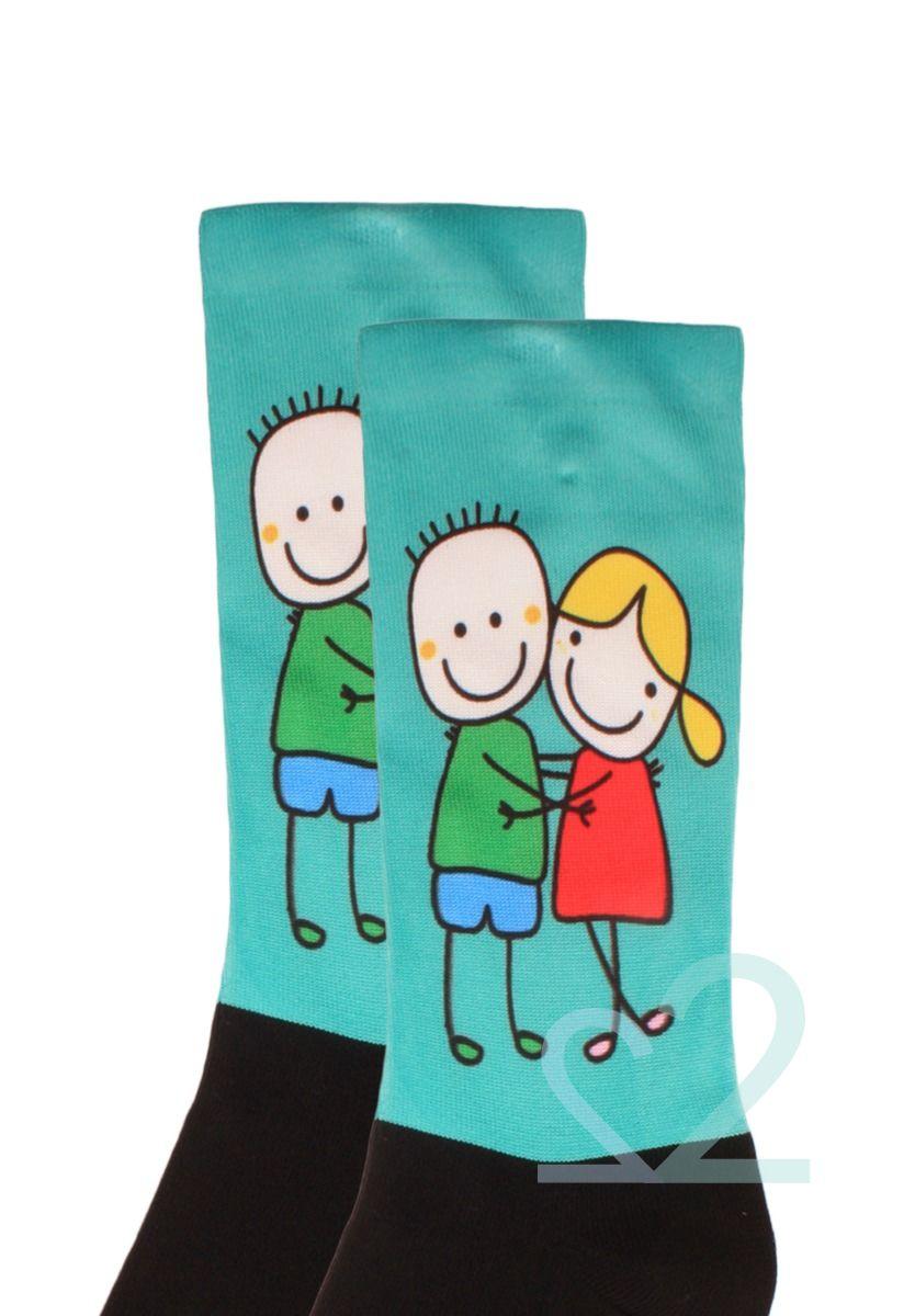 Κάλτσες ανδρικές Printed Happy Together